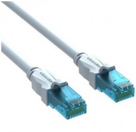 Патч-корд 5E категории UTP серый Vention 5м VAP-A10-S500 патч корд vention прямой utp cat 5е rj 45 1м серый vap a 10 s 100