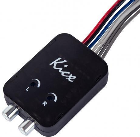 Конвектор Kicx HL02MS двухканальный черный kicx icq 301bxa