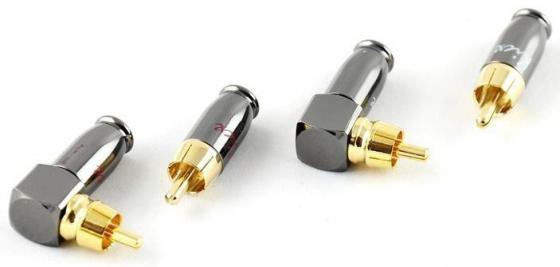 Коннектор Kicx DRCA-4SA серебристый/золотистый 4шт коннектор kicx quick connector