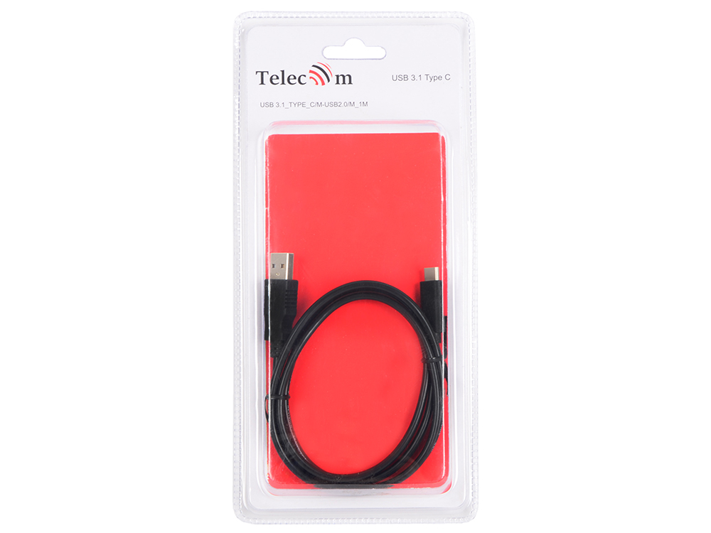Кабель-адаптер USB 31 Type-Cm - USB 20 Am 1метр Telecom TC405-1M