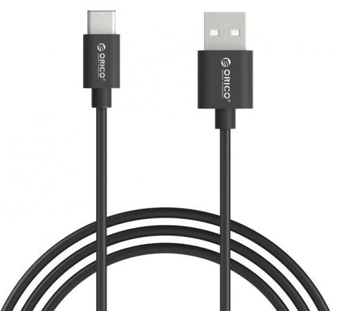 Кабель USB - USB C Orico ECU-05 черный 50pcs micro usb 3 0 male to usb c usb 3 1 type c female extension data cable for macbook tablet 10cm by fedex