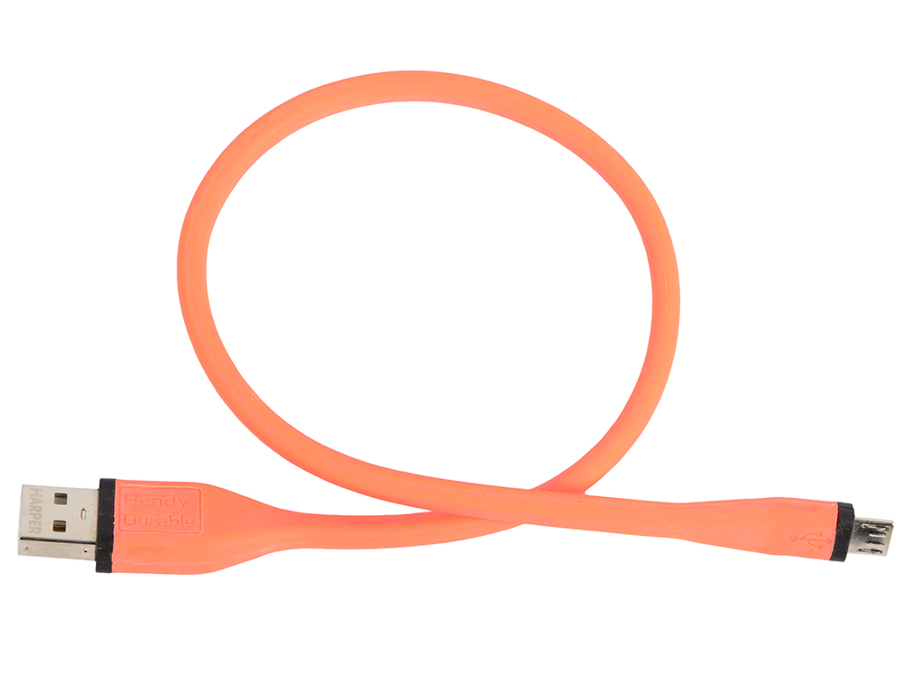 Кабель HARPER BCH-338 orange Micro USB, Длина кабеля: 38см orange mt20 micro terror