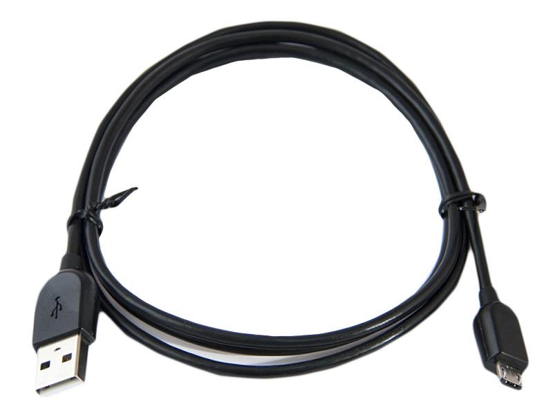 Мультимедийный кабель Belsis BW1432B USB2.0 A вилка - Micro USB вилка, длина 1.2 м. (черного цвета), Belsis BW1432B