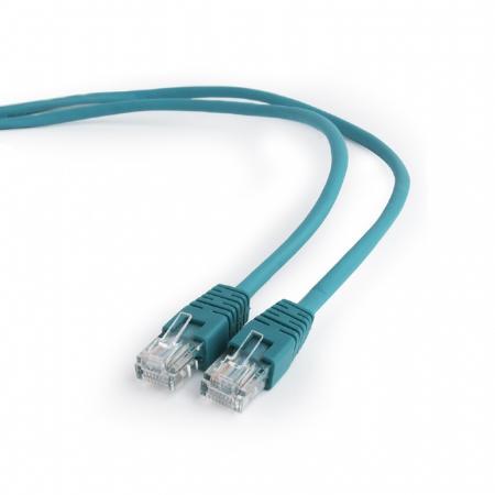 Патч-корд UTP 5E категории 3м зеленый CCA PVC