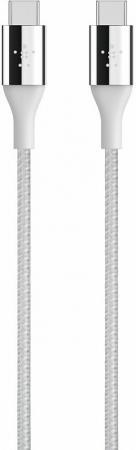Кабель USB-C Belkin серебристый 1.2м F2CU050bt04-SLV стоимость