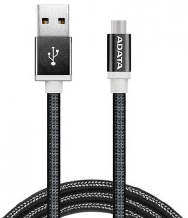 все цены на Кабель USB - micro USB A-Data AMUCAL-100CMK-CBK 1 м черный