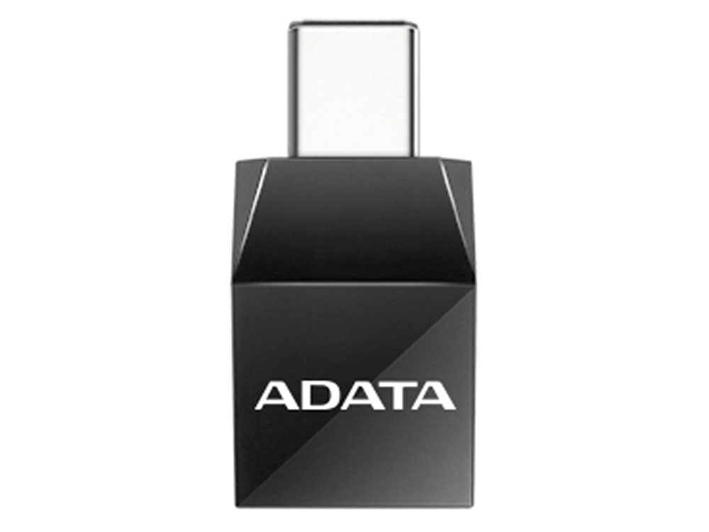 Переходник A-Data USB-A - USB-C ACAF3PL-ADP-RBK adata a data asp900s3 512gm c 512гб