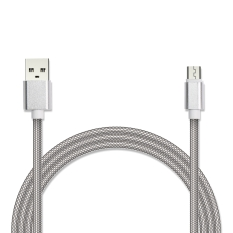 Кабель USB/micro Jet.A JA-DC22 2м белый (в оплётке, поддержка QC 3.0, пропускная способность 2A) кабель red line classic micro usb 2м белый