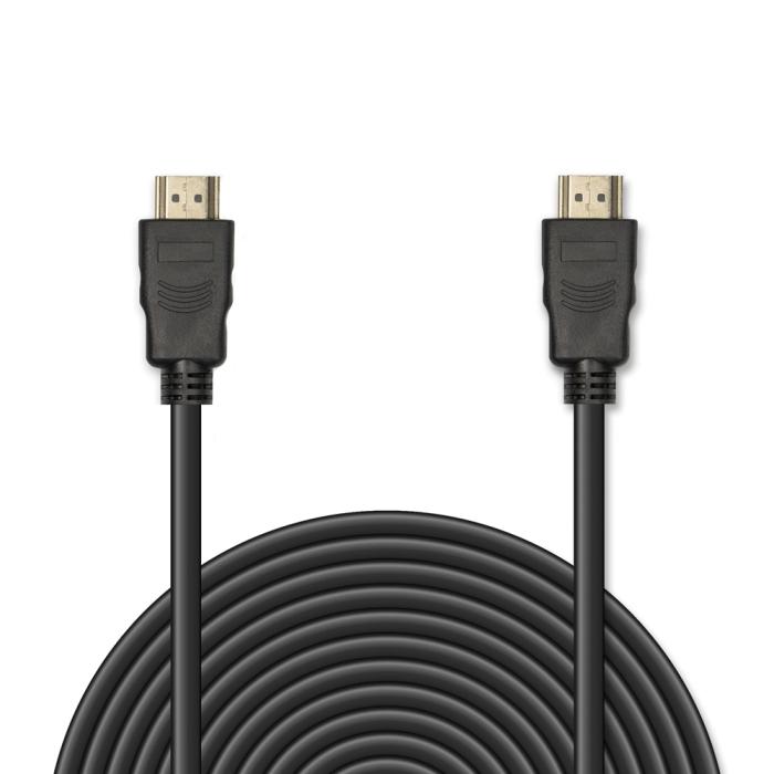 Цифровой кабель HDMI-HDMI JA-HD8 3 м (версия 1.4 с 3D Ready, Full HD 1080p/Ethernet, 19 pin, 30 AWG, CCS, коннекторы HDMI с покрытием 24-каратным золо universal hdmi 19 pin 1080p hd cable brown transparent 5m