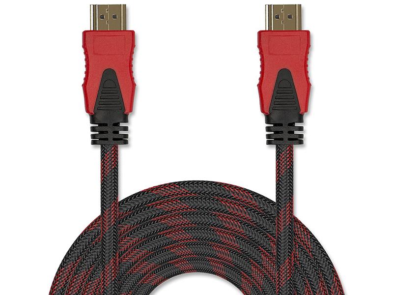 Цифровой кабель HDMI-HDMI в оплётке с двумя ферритами JA-HD9 2 м (версия 2.0 с поддержкой 3D, Ultra HD 4К/Ethernet, 19 pin, 30 AWG, CCS, коннекторы HD акихабара choseal hywl001 2 0 hdmi цифровой высокой четкости версия линии высокоскоростной поддержка 3d 1 8 метров