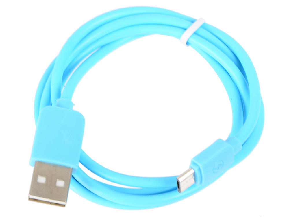 Кабель USB-microUSB Human Friends Super Link Rainbow M Blue, 1 м. цены