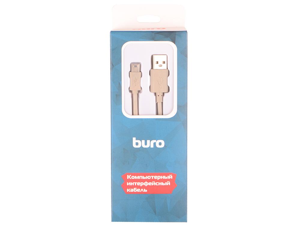 Кабель Buro BHP RET USB_MINI18 USB A(m)-mini USB B (m) черный 1.8м кабель buro otg usb f miniusb 0 2м черный [otg mini]