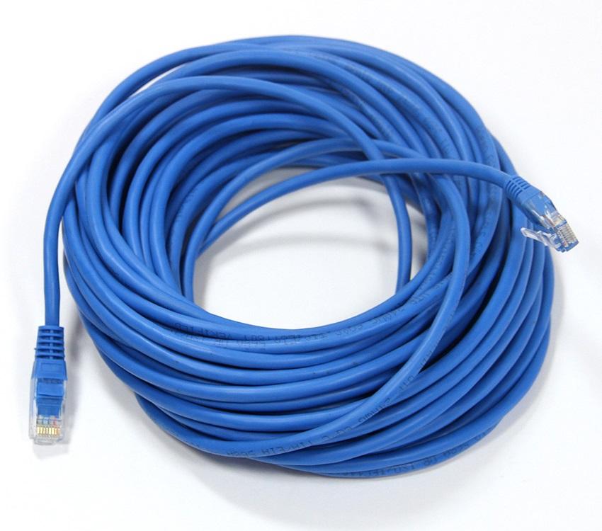 Патч-корд литой TV-COM NP511-15-B многожильный UTP кат.5е 15м синий патчкорд литой tv com np511 3m многожильный utp кат 5е 3м серый
