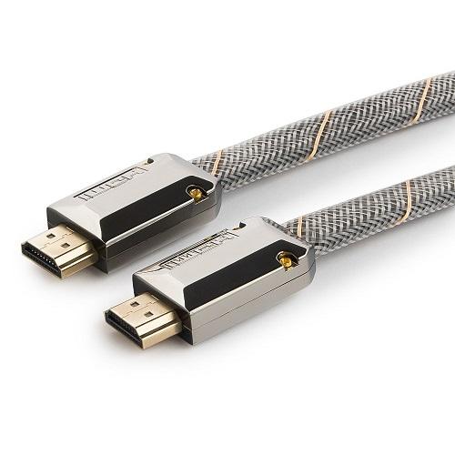 Кабель HDMI Cablexpert CC-P-HDMI04-1.8M, серия Platinum, 1,8 м, v2.0, плоский hdmi кабели mt power hdmi 2 0 platinum 2 м
