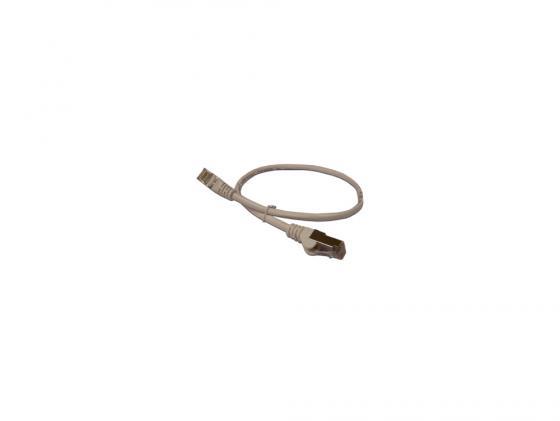 Патч-корд Lanmaster 6 категории серый 5.0м LAN6-S45-45-0.5-GY