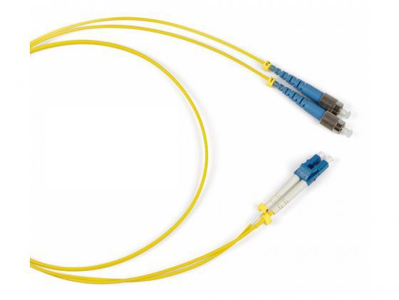 Патч-корд Hyperline FC-9--LC-UPC-1M волоконно-оптический шнур 1м