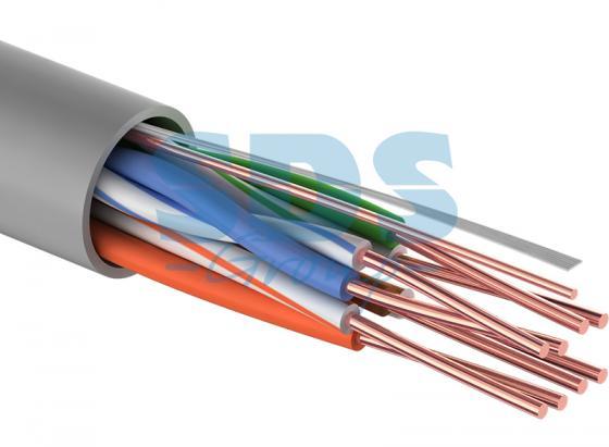 Кабель UTP 4PR 24AWG CAT5e 100м PROCONNECT акустический кабель 2х0 50 кв мм красно черный 100м proconnect 01 6103 6