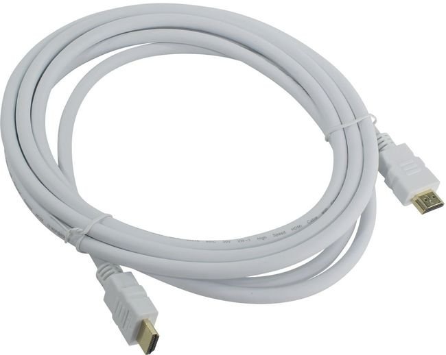 Кабель HDMI 19M/M ver 2.0, 3М, белый Aopen <ACG711W-3M>