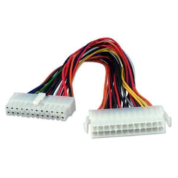 Удлинитель кабеля питания материнской платы Telecom EXT-24M-24F-20SM, 20см free shipping cm200du 24f