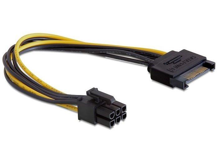 Cablexpert Разветвитель питания SATA-PCI-Express 6pin, для подключения в/к PCI-Е (6pin) к б/п ATX ( cablexpert разветвитель питания sata page 3 page 4 page 4