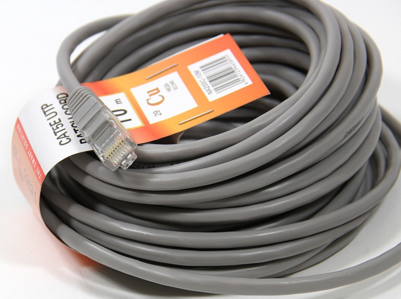 Патч-корд литой медный NA200-10M Telecom UTP кат.5е 10м серый ibanez stc05ll guitar cable