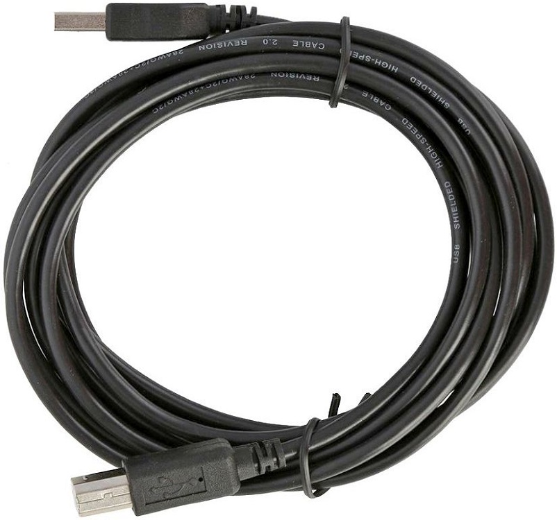 Кабель USB 2.0 A - USB B Belsis SP3092, 5 м, черный цена
