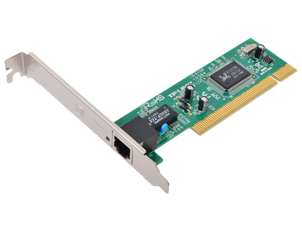 все цены на  Сетевая карта TP-LINK TF-3239DL 10/100M PCI Network Interface Card, RJ45 port, RTL  онлайн