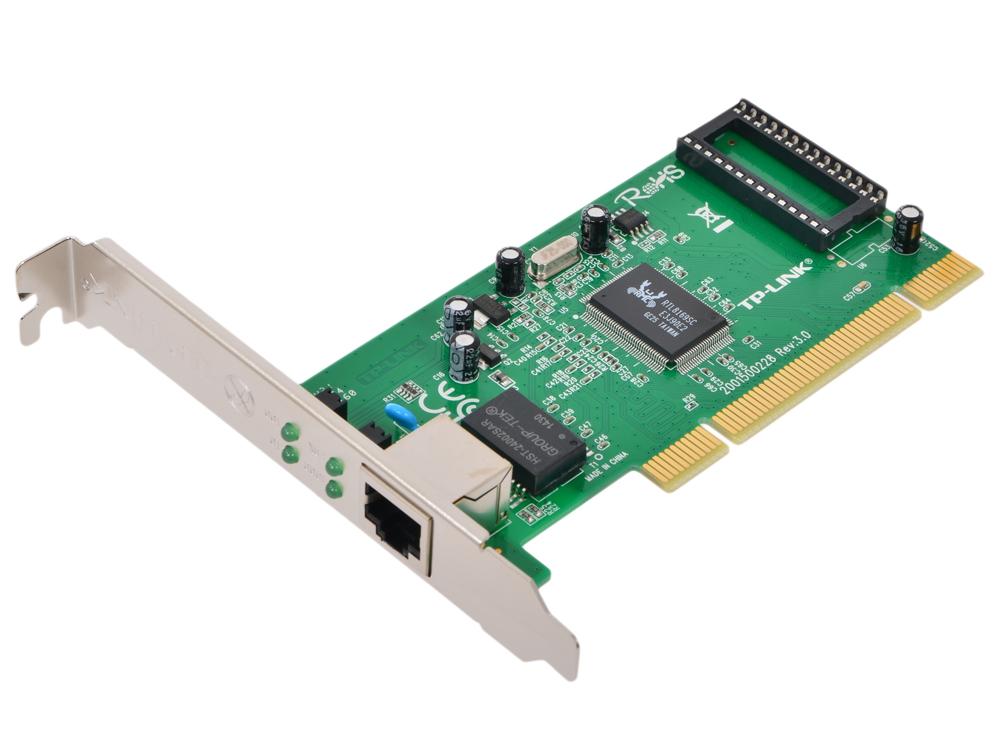 Сетевая карта TP-LINK TG-3269 Гигабитный сетевой PCI-адаптер