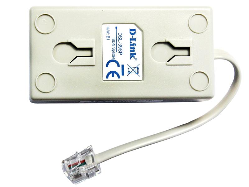 Сплиттер D-Link DSL-39SP Сплиттер ADSL Сплиттер ADSL Annex B