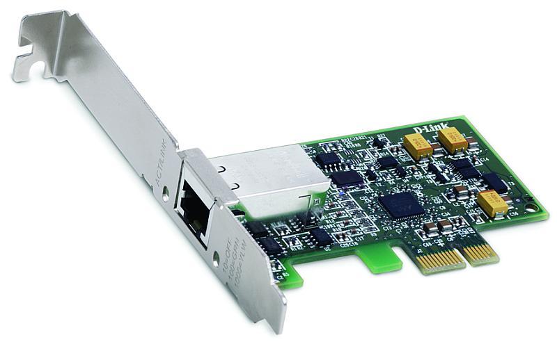 Сетевая карта D-Link DGE-560T Сетевой адаптер Gigabit Ethernet для шины PCI Express