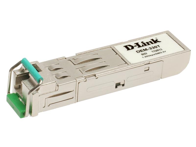 Модуль D-Link DEM-220T Двунаправленный SFP-трансивер Fast Ethernet для оптического кабеля (Tx: 1550нм Rx: 1310 нм)