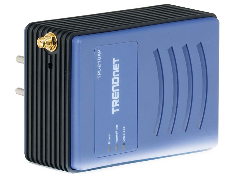 Точка доступа TRENDnet TPL-210AP   85Mбит/с Powerline беспроводная точка доступа