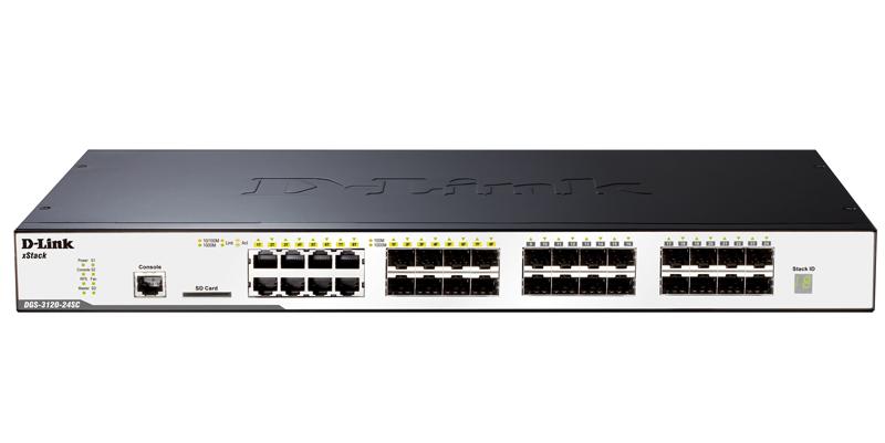 Коммутатор D-Link Switch DGS-3120-24SC Управляемый стекируемый коммутатор 2 уровня с 20 портами 10/100/1000Base-T + 4 портами 10/100/1000Base-T/SFP 100pcs 2p 2 position dip switch 2 54mm pitch 2 row 4 pin dip switch