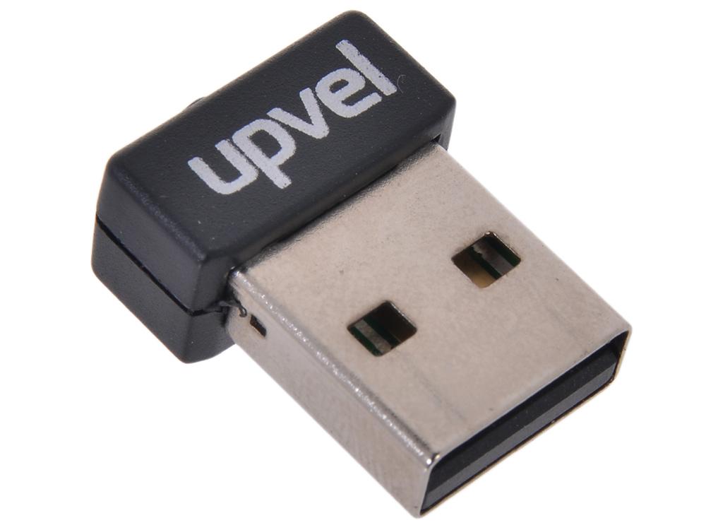 Адаптер UPVEL UA-210WN Микро USB-адаптер, Wi-Fi стандарта 802.11n 150 Мбит/с wi fi адаптер upvel ua 222nu arctic white