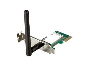 Адаптер D-Link DWA-525/B1A Беспроводной PCI Express адаптер до 150Мбит/с wi fi адаптер d link dwa 131 e1a