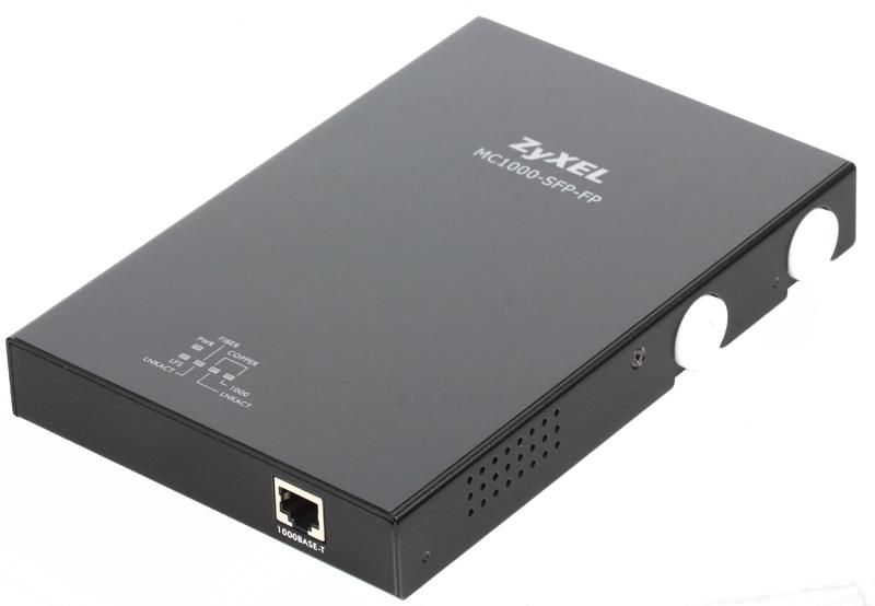 Медиаконвертер ZyXEL MC1000-SFP-FP Медиа-конвертер 1000Base-T в SFP-слот