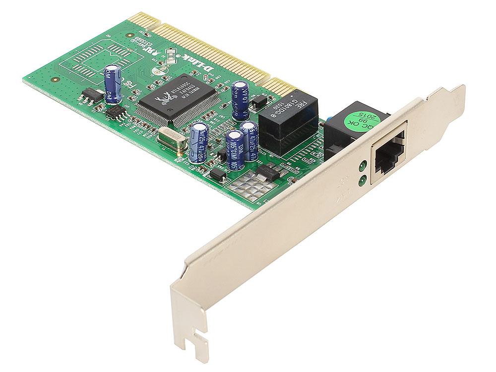 Сетевой адаптер D-Link DGE-528T/C1B Сетевой адаптер Gigabit Ethernet для шины PCI
