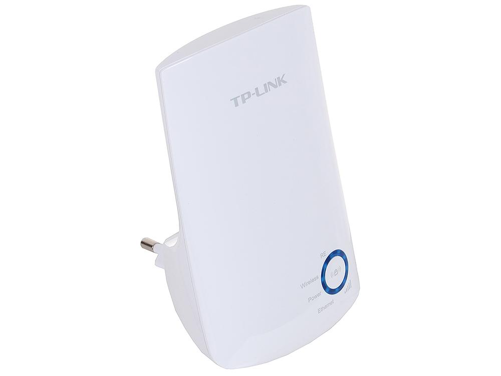 Усилитель Wi-Fi сигнала универсальный TP-LINK TL-WA850RE (скорость до 300 Мбит/с, настенный, быстрая настройка, 1 порт Ethernet, умный индикатор сигнала, реж усилитель сигнала tp link tl wa850re