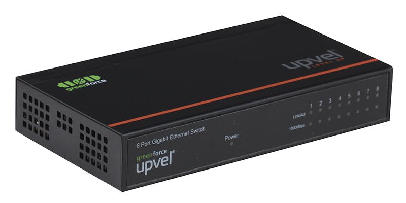 Коммутатор UPVEL US-8G 8-портовый гигабитный коммутатор коммутатор upvel us 8g 8 портовый гигабитный коммутатор