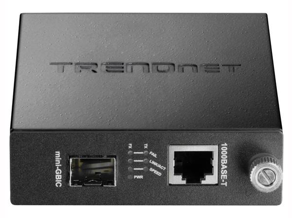 Медиаконвертер TRENDnet TFC-1000MGA 100Base-FX / 1000Base-SX/LX и портом Ethernet 100/1000Base-T. Производитель: Trendnet, артикул: 0226927