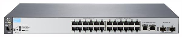 Коммутатор HP 2530-24 (J9782A) Управляемый коммутатор Layer 2 с 24 портами 10/100, 2 портами 10/100/1000 и 2 разъемами GbE SFP коммутатор hp 2530 48g poe j9772a управляемый коммутатор 2 го уровня с 48 портами 10 100 1000 poe и 4 слотами gbe sfp