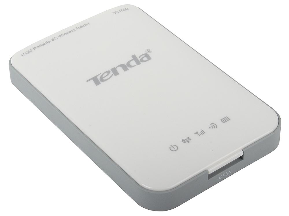 Маршрутизатор Tenda 3G150B Портативный WiFi роутер с аккумулятом до 150Мбит/сек, поддержка 3G USB модемов