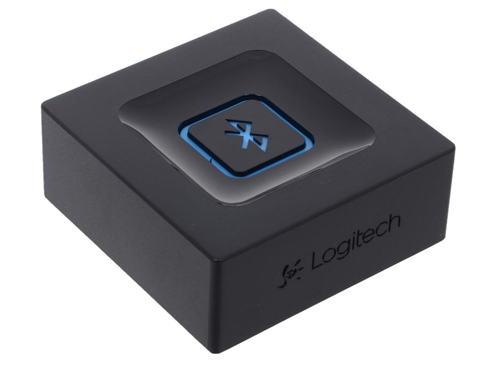 (980-000912) Logitech Bluetooth Audio Adapter (для создания беспроводной аудиосистемы) 980 000912 logitech bluetooth audio adapter для создания беспроводной аудиосистемы