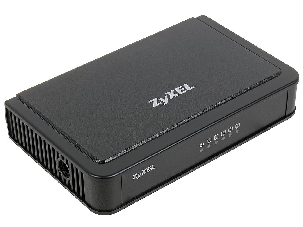 Коммутатор ZyXEL ES-105E Пятипортовый коммутатор Fast Ethernet