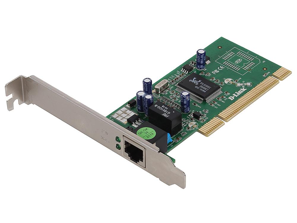 Сетевой адаптер D-Link DGE-528T/20/C1B Сетевой адаптер Gigabit Ethernet для шины PCI OEM (20шт в коробке с одинм комплектом драйверов)