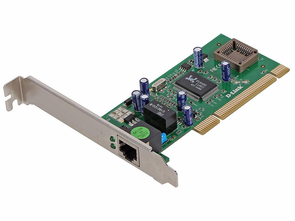 Сетевой адаптер D-Link DGE-530T/D2B Сетевой PCI-адаптер с 1 портом 10/100/1000Base-T