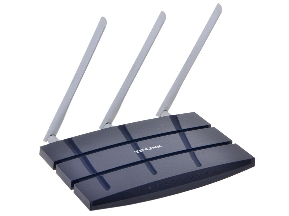 Маршрутизатор TP-LINK TL-WR1045ND Гигабитный WiFi роутер 802,11n,  до 450 Мбит/с, USB 2.0 маршрутизатор tp link tl wr1045nd синий