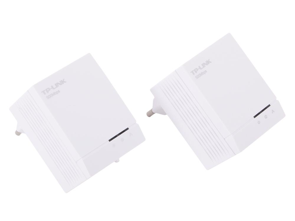 Адаптер TP-Link TL-PA4020KIT AV500 Комплект 2-портовых адаптеров Powerline