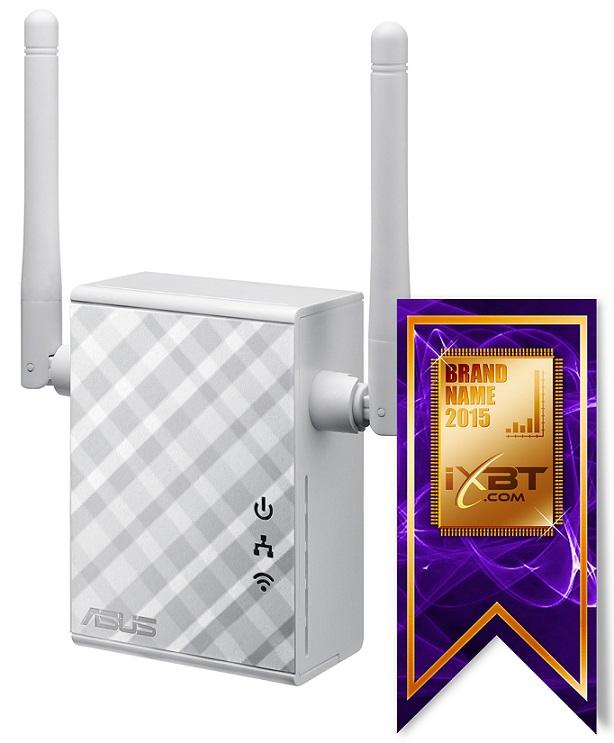 Усилитель Wi-Fi сигнала ASUS RP-N12 Беспроводной повторитель и точка доступа в одном устройстве 24a усилитель повторитель сигнала extend led 5050 3528 rgb полосы света