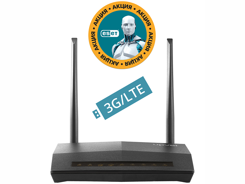 Маршрутизатор UPVEL UR-515D4G Bandle 3G/4G/LTE ADSL2+/Ethernet Wi-Fi роутер 300 Мбит/с + Бонус ESET Nod32 Smart Security 3 мес. бесплатно + Карточка dhl shipping battery working cold fireworks machine console dmx wireless 2 4g usb led lamp speed fireworks spary shape button